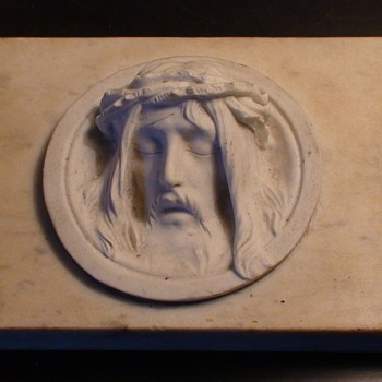 Jesus In Marble - Visual Art