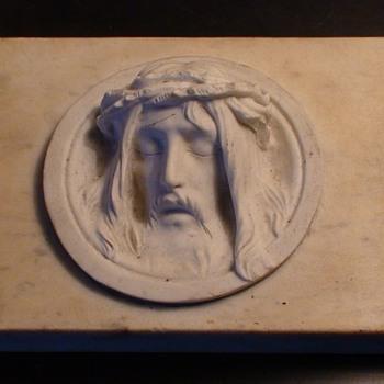 Jesus In Marble - Visual Art
