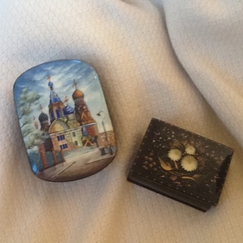 Russian lacquer boxes  - Fine Jewelry