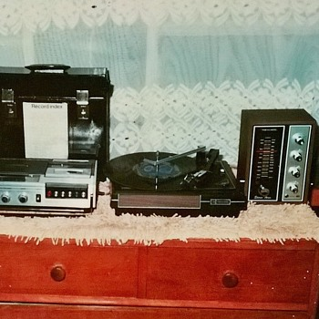 1976- my old stereo system-Tandy stores purchase - electronics. - Electronics