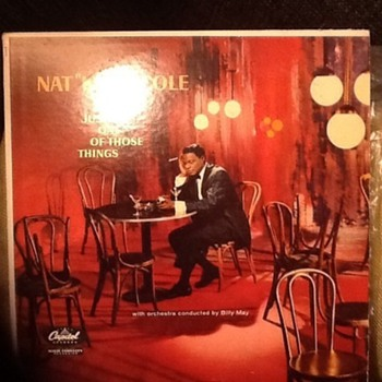 "Nat ""King"" Cole LP - Records"