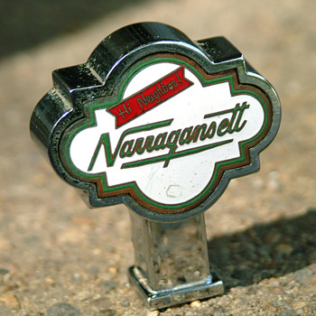 narragansett beer top knob - Breweriana