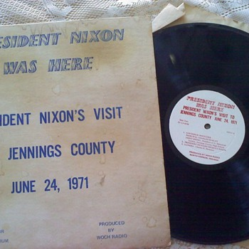 Audio recording of President Nixon - Records