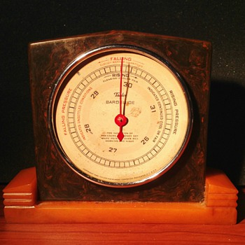 Bakelite Weather Instruments