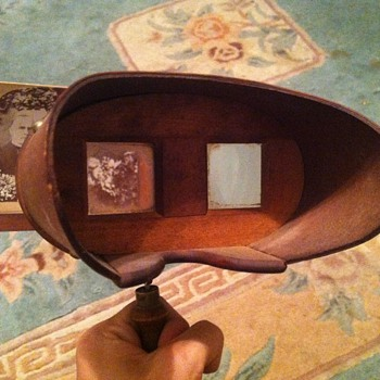 "1896 stereoscope the ""perfectoscope"""