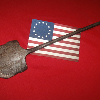 Revolutionary War . . . Blacksmith Forged Spatula