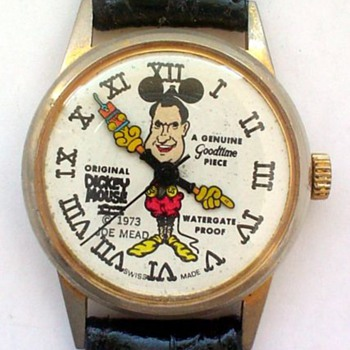 "1973 ""Dickey"" Mouse wristwatch - Wristwatches"