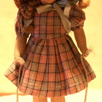 Old Cloth & Felt International Dolls