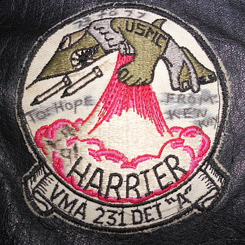Harrier Squadron Patch - Military and Wartime
