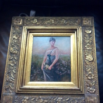 Antique Oil Painting Need help idenifying! - Visual Art