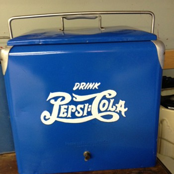 Pepsi Double Dot Cooler  - Advertising