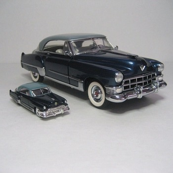 1949 Cadillac Coupe DeVille Die-Cast Replicas - Model Cars