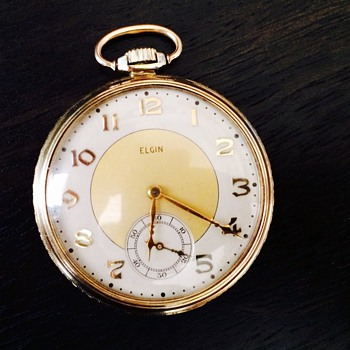 1939 Elgin 15 Jewels - Pocket Watches