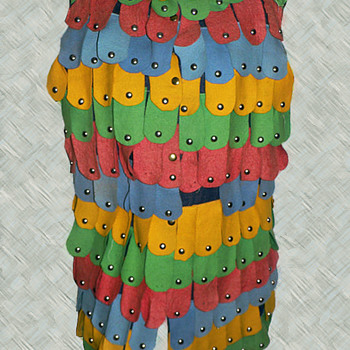 Bizarre 60's Hippie Dress from Massachusetts Hippie