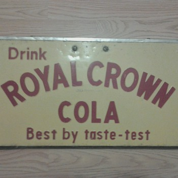 Royal Crown Cola Sign - Signs