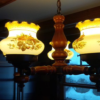 Vintage Kitchen Light