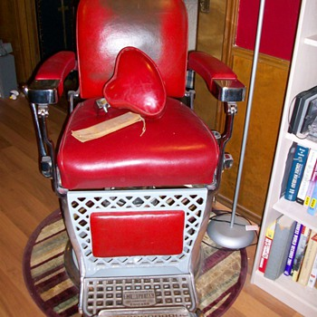 1951 Barber Chair - Furniture
