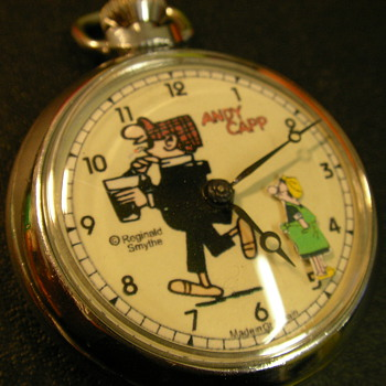 Andy Capp Animated Pocket Watch