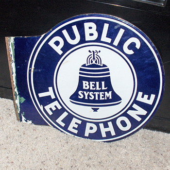 My  sign that no one wanted - Telephones