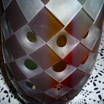 Hand Blown Vase - Art Glass
