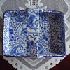 blue &amp; white porcelain serving tray.