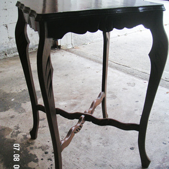 Small hand carved candle table ? - Furniture