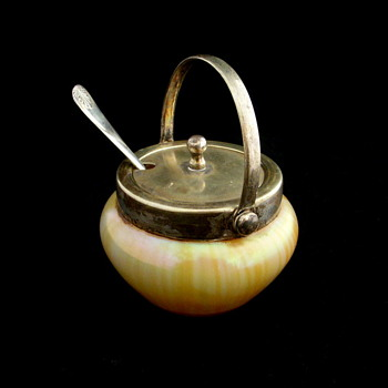 Kralik Mustard Pot? English Made Lid