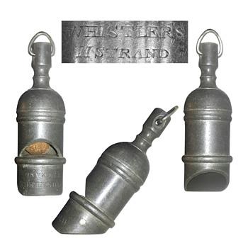 Dixon Britannia metal whistle