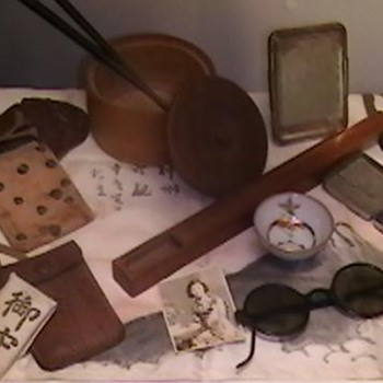 WW II Japanese Soldier's Personal Effects