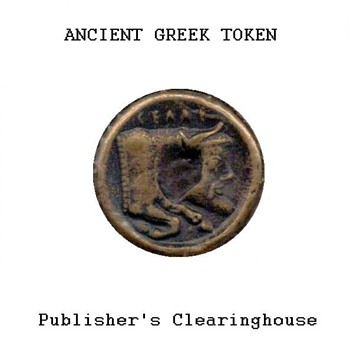 Ancient Greek Token - Replica