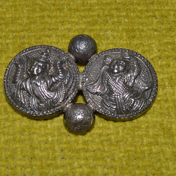 Antique silver brooch