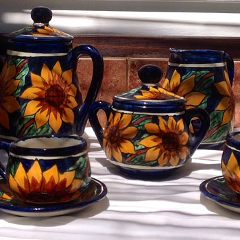 Coffee set - Art Pottery