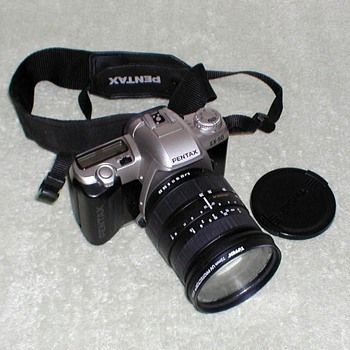 Pentax ZX-50 35mm Camera - Cameras