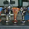 Kralik Star shaped fan vase Group