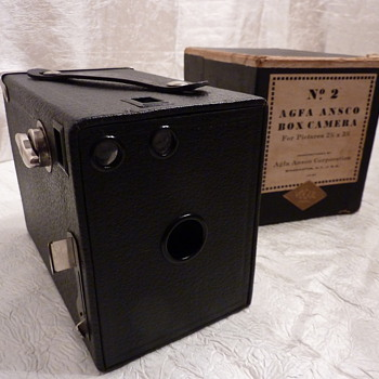 Ansco box - Cameras