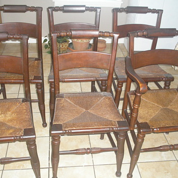 highpoint ladderback chairs - Furniture