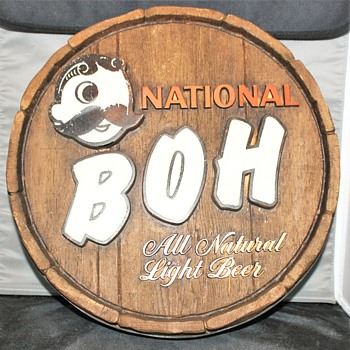 Chesapeake Bay Choice Beer National Boh / Natty Boh / National Bohemian...