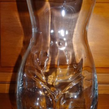 Risqué Glass Vase