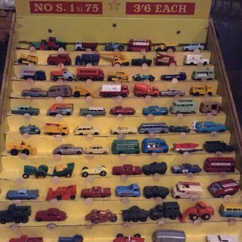 Matchbox  australian shop display 1965