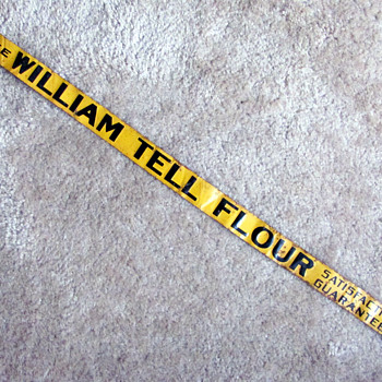 William Tell Flour Shelf Label