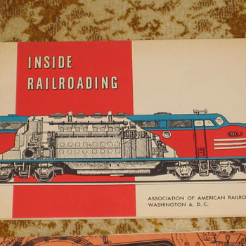 Railroad books - Railroadiana