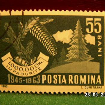 1963 Posta Romina (Romania) Stamp - Stamps