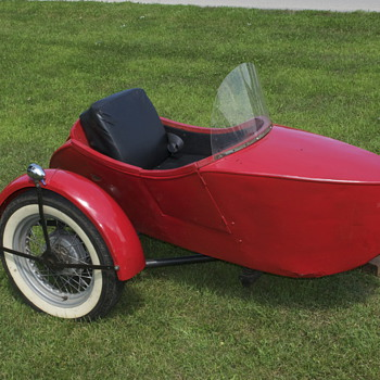 1928 Indian Princess Sidecar