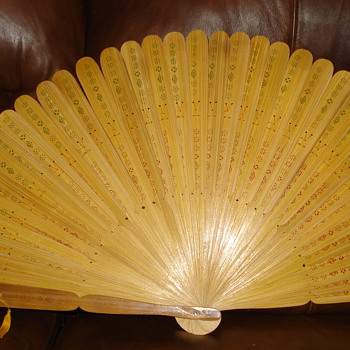 LARGE DECORATIVE FAN - Accessories