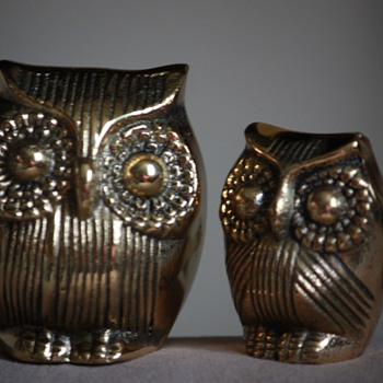 Brass Owls