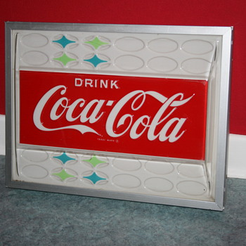 coca cola light up sign