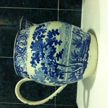 Blue Jar I thought was Wedgwood - China and Dinnerware