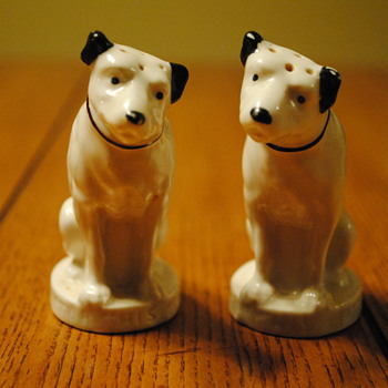 RCA Nipper/His Master's Voice Salt and Pepper Shakers