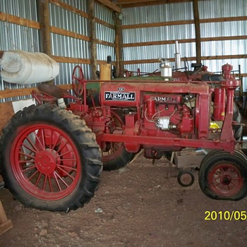 1938 Farmall F 20 tractor