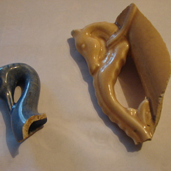Vintage sherds from Cameron Pottery, need help identifying horse handle - Art Pottery